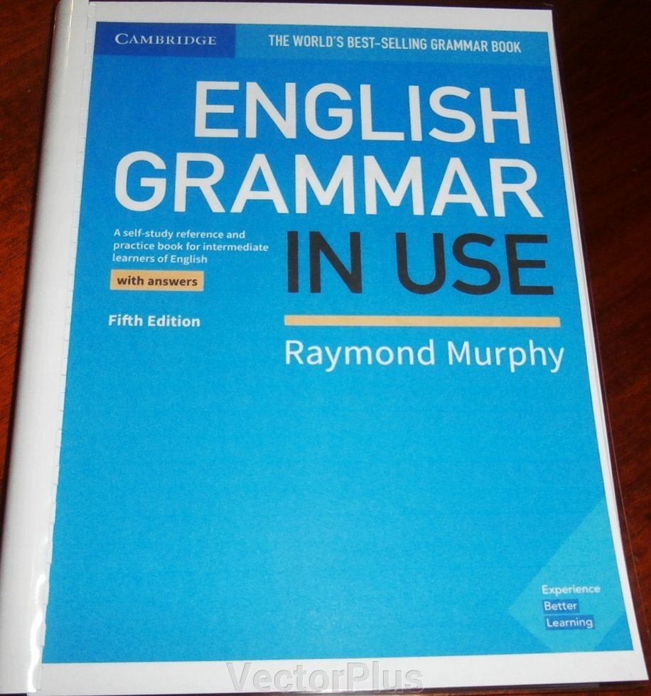 English Grammar in Use 5th Edition Book with answers ##от компании## VectorPlus - ##фото## 1