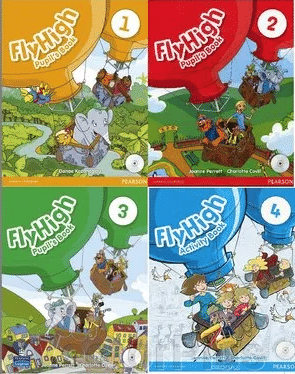 Fly High 1, 2, 3, 4 Pupils book + Activity book ##от компании## VectorPlus - ##фото## 1