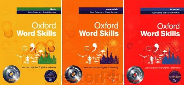 Oxford Word Skills Basic, Intermediate, Advanced ##от компании## VectorPlus - ##фото## 1
