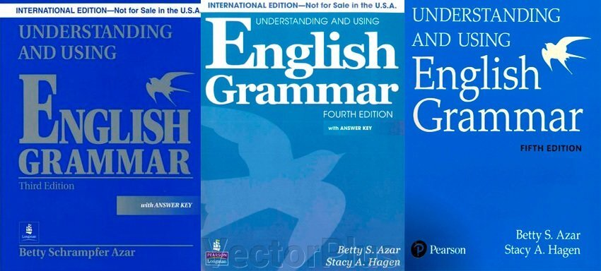 Understanding and using english grammar 3th, 4th, 5th edition. Англійська граматика ##от компании## VectorPlus - ##фото## 1