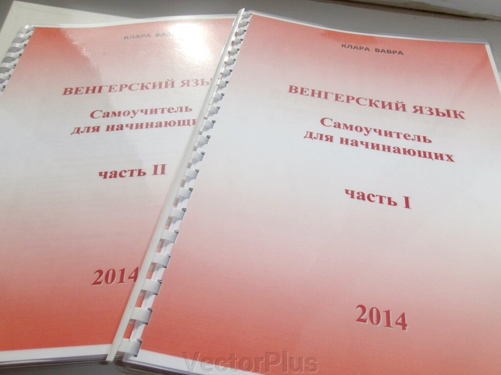 Венгерский язык. Клара Вавра 2014 Самоучитель. Для начинающих. + аудіо ##от компании## VectorPlus - ##фото## 1