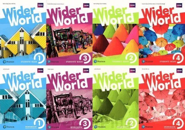 Wider World Starter, 1, 2, 3, 4 Students, Teachers Book, Workbook ##от компании## VectorPlus - ##фото## 1