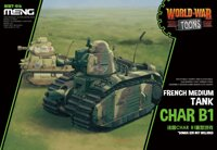French Heavy Tank Char B1 (Cartoon Model). MENG MODEL WWT-016