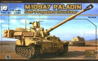 M-109A7 Paladin Self-Propelled Howitzer. Сборная модель в масштабе 1/35. PANDA HOBBY PH35028