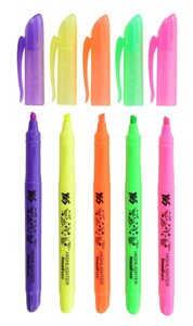 Маркер Highlighter YES Neon, 5 цв. , код: 390445