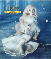 Кукла знаки Зодиака Рыбы PISCES Mystery Magic Girl Fortune Days BJD doll