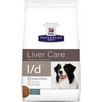 HILL'S (ХИЛС) PRESCRIPTION DIET CANINE L/D - ЛЕЧЕБНЫЙ КОРМ ДЛЯ СОБАК, ЗАБОЛЕВАНИЯ ПЕЧЕНИ 12кг