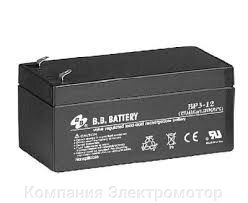 Аккумулятор BB Battery BP3-12/T1 от компании ПКФ «Электромотор» - фото