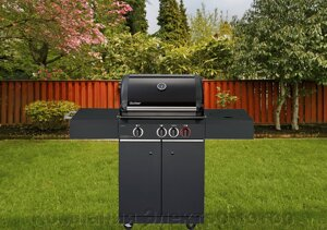 Enders Gasgrill Kansas I 3 Turbo : Enders stand gasgrill kansas sik turbo mit brennern und
