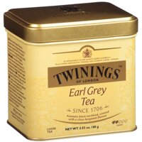 Чай черный Twinings Earl Grey Tea (Твайнингз Эрл Грей классика) с бергамотом 100 г среднелистовой черный