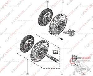 Сцепление комплект Renault Master 8671095118 8671095118