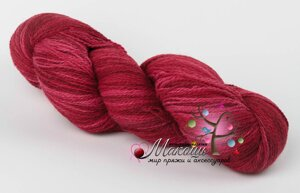 Пряжа Aade Long Kauni Artisric Yarn 8/2 Кауни Арстистик Ярн 8/2, красный, цена за 100 грамм