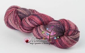 Пряжа Aade Long Kauni Artisric Yarn 8/2 Кауни Арстистик Ярн 8/2, розовая лилия, цена за 100 грамм