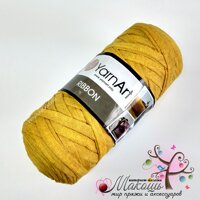 Пряжа Риббон Ribbon YarnArt, № 764, желтый,