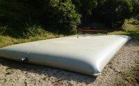 Гибкий резервуар для воды объемом 10 000 л.