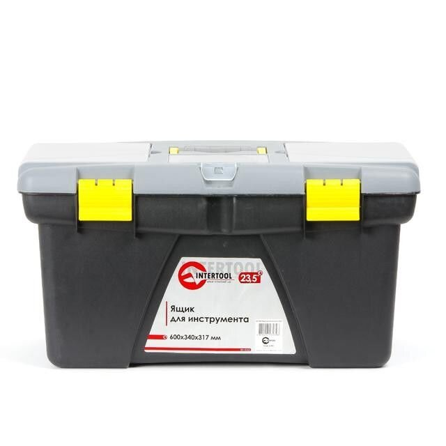 "Ящик для инструмента 23.5"" 600*340*317мм INTERTOOL BX-0323 ##от компании## Интернет-магазин TOOLMAN - ##фото## 1"