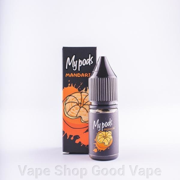My Pods Mandarin 10 ml Salt ##от компании## Vape Shop Good Vape - ##фото## 1