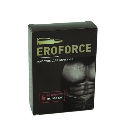 "Eroforce - Капсулы для потенции ##от компании## Интернет аптека ""ТОПШОП"" - ##фото## 1"