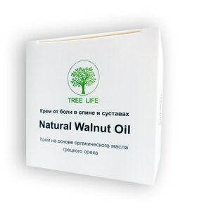 "Natural Walnut Oil - Крем от боли в спине и суставах (Нейчирал Велнут Ойл) в Киеве от компании Интернет аптека ""ТОПШОП"""