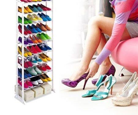 Картинки по запросу Органайзер стойка для обуви Amazing shoe rack 30 пар