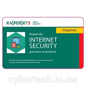 Kaspersky Internet Security European Edition. 2-Device 2 year Renewal License Pack від компанії CyberTech - фото