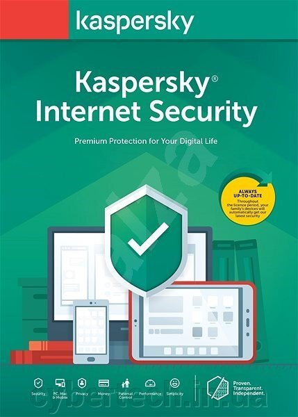 Kaspersky Internet Security European Edition. 3-Device 2 year Base License Pack ##от компании## CyberTech - ##фото## 1