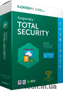 Kaspersky Total Security European Edition. 5-Device; 2-Account KPM; 1-Account KSK 2 year Renewal License Pack від компанії CyberTech - фото