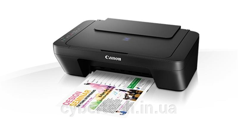 МФУ А4 цв. Canon PIXMA Ink Efficiency E414 (1366C009) ##от компании## CyberTech - ##фото## 1