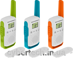 Рация Motorola TALKABOUT T42 TRIPLE PACK від компанії CyberTech - фото