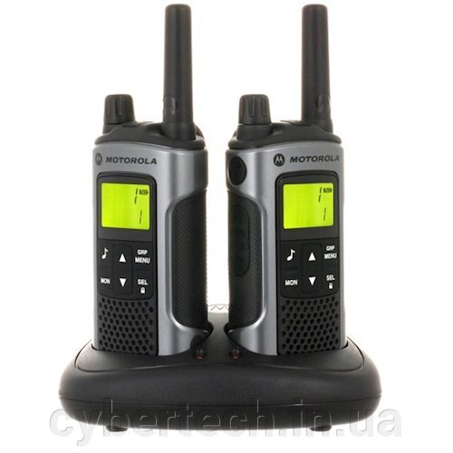 Рация Motorola TLKR-T80 WE TWIN PACK & CHGR BOX ##от компании## CyberTech - ##фото## 1