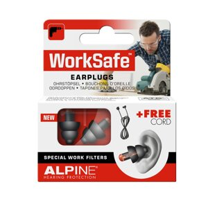 Беруши для работы Alpine WorkSafe в Днепропетровской области от компании Слух Норма