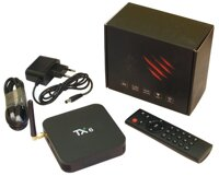Android приставка TX-6 4/64G Smart TV Box (Allwinner H6, Android 9.0, Wi-Fi 2.4+5.8, BT 4.1)