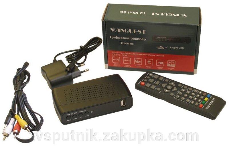 заказать эфирный тюнер Winquest T2 Mini Se Youtube Iptv звук Ac 3