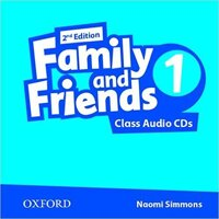 Family and Friends 1- Class Audio CDs