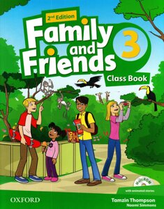 Учебник Family and Friends 2nd Edition 3 Class Book