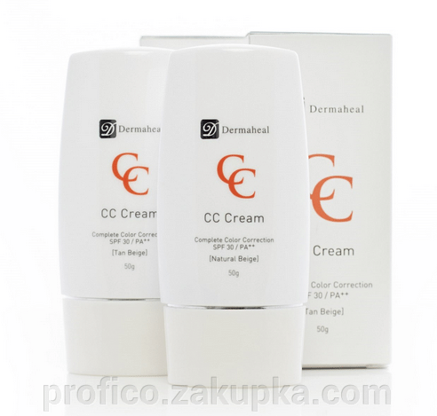 тональный крем dermaheal cc cream отзывы