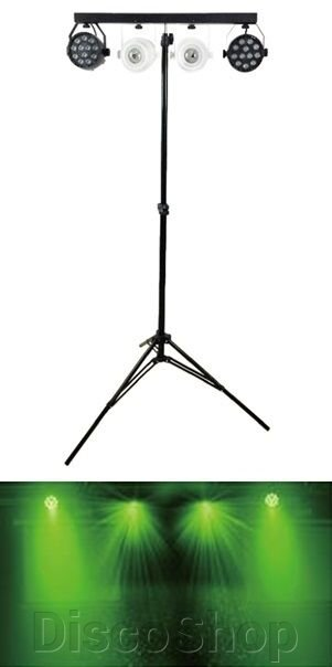 PL-31B New Light, Комплект LED PAR + LED KALEIDOSCOPE LIGHT ##от компании## DiscoShop - ##фото## 1