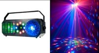 VS-87 New Light, Световой LED прибор BALL, MOONFLOWER, STROBE and LASER