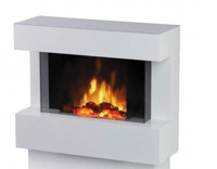 Электрический камин Dimplex  Avalone White Optiflame в Киеве от компании Велес Торг