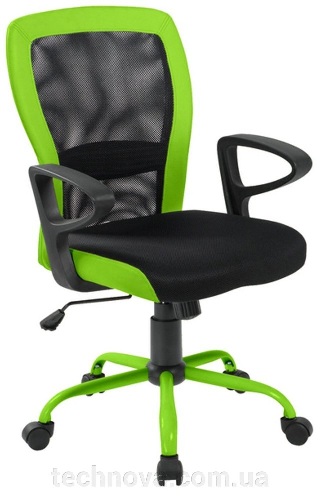 "Кресло Office4You LENO grey-Green ##от компании## Компания ""TECHNOVA"" - ##фото## 1"
