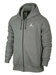Толстовка Nike Air Jordan Flight Fleece Full Zip Hoodie Sweater AA5583-063 (размер L)