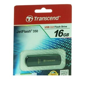 Флешка USB 2.0 flash drive transcend jetflash 350 16GB (TS16GJF350)