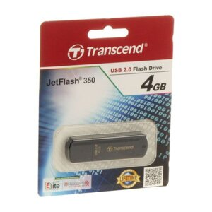 Флешка USB 2.0 flash drive transcend jetflash 350 4GB (TS4gjf350)