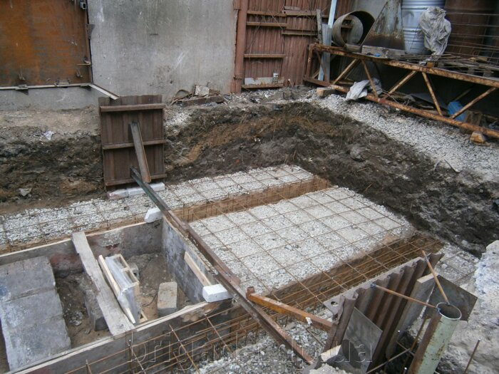 Фундамент под термоустановку