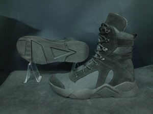 Берцы демисезонные Special Forces Alabama HIMACB (High Mobility Assault Combat Boots) black черные
