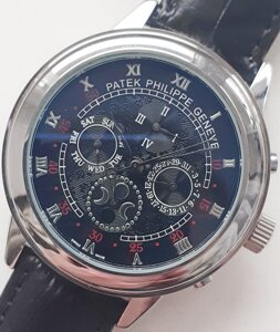 Часы patek philippe sky moontourbilon black. класс ааа