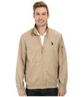 "Куртка мужская U. S. Polo Assn. Men""s Mock Zip Jacket, Desert Khaki, размер: XL"