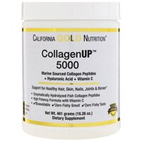 "Морской коллаген California Gold Nutrition, CGN, CollagenUP™ 5000,+ гиалуроновая кислота + витамин, 461 г в Киеве от компании Интернет магазин ""Канбан"""