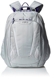 Рюкзак Samsonite Vizair 2 Laptop Backpack, Silver/Purple