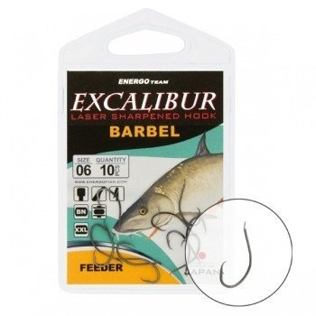 Крючок Excalibur Barbel Feeder NS №10 ##от компании## Carp Expert - ##фото## 1